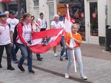 Vlaggenparade EK Triathlon 2019